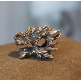 Бусина Ледяной дракон