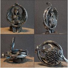 Медальон Сирин