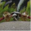 Бусина грибы Лисички