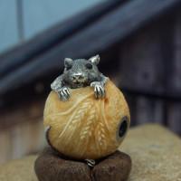 Нэцке Крыса в Мешке